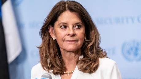 """La vicepresidenta de Colombia afirma que ha actuado """"conforme a la ley"""" tras la aparición de su nombre en los Papeles de Pandora"""
