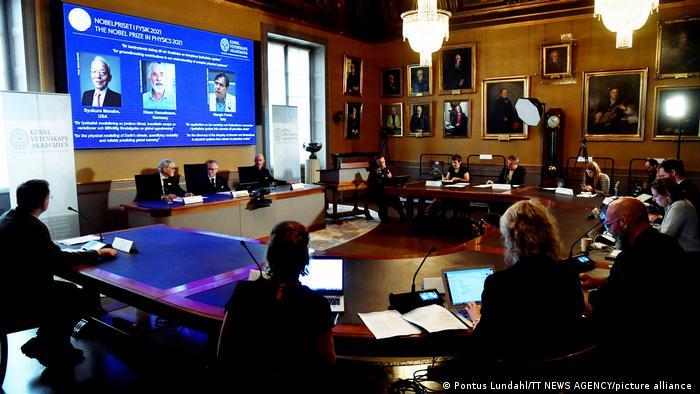 Nobelpreis für Physik 2021   Syukuro Manabe, Klaus Hasselmann and Giorgio Parisi