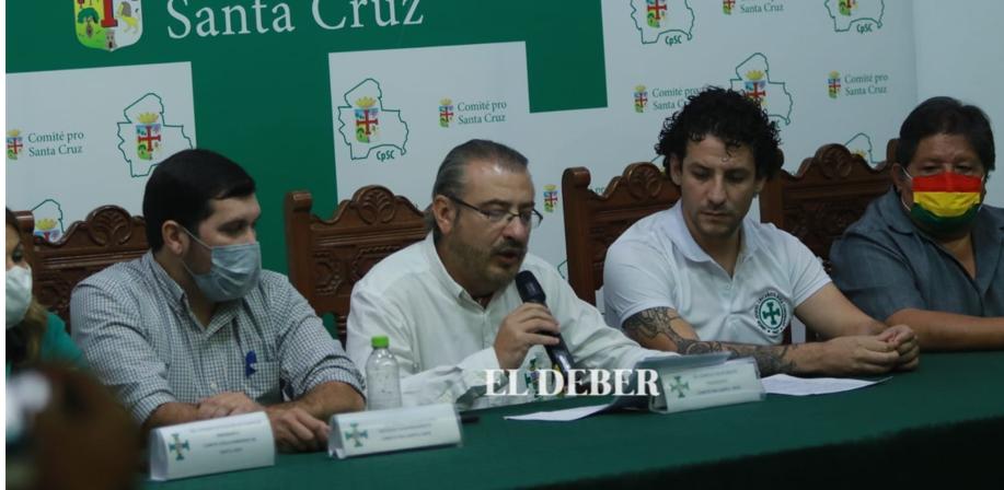 Cívicos determinan 7 puntos para frenar el autoritarismo. J. Gutiérrez