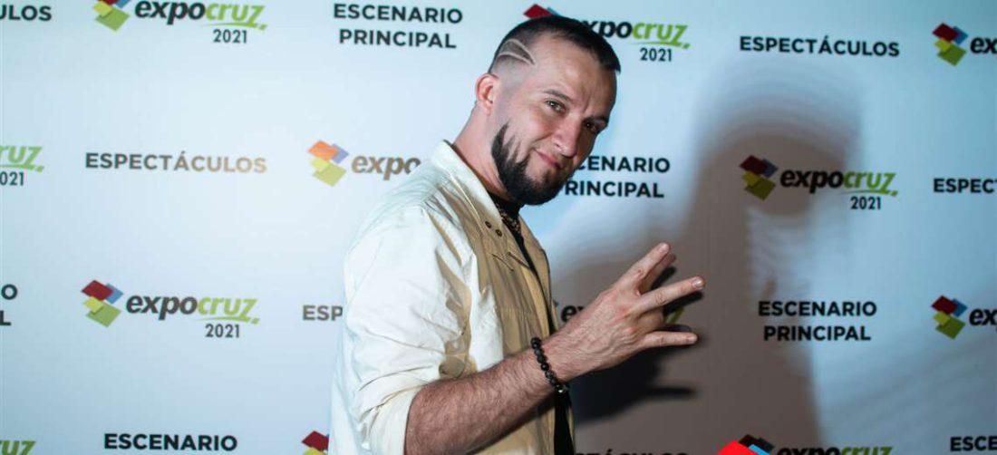 Chris actuó recientemente en la 'Feria'. Foto: Expocruz