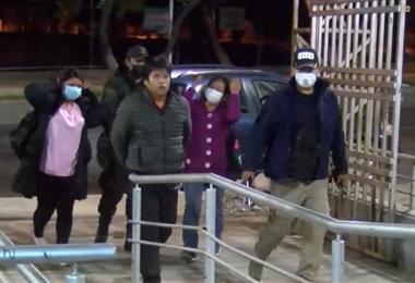 El esposo de la víctima y dos mujeres fueron aprehendidos y llevados a la EPI Norte