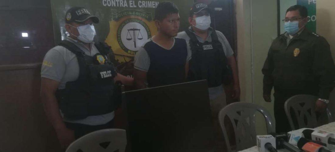 Policía detiene a ladrones de centro de salud
