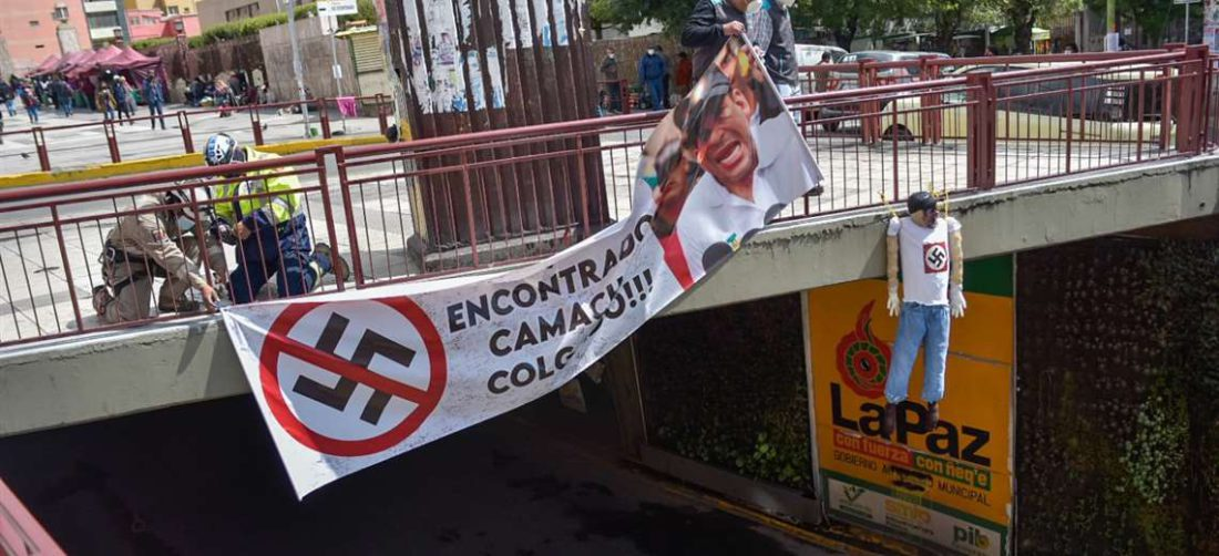 Retiran las imágenes de amenaza a Camacho I Marka Registrada.