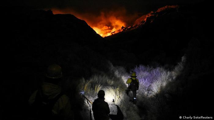 Argentinien Brände in Cordoba