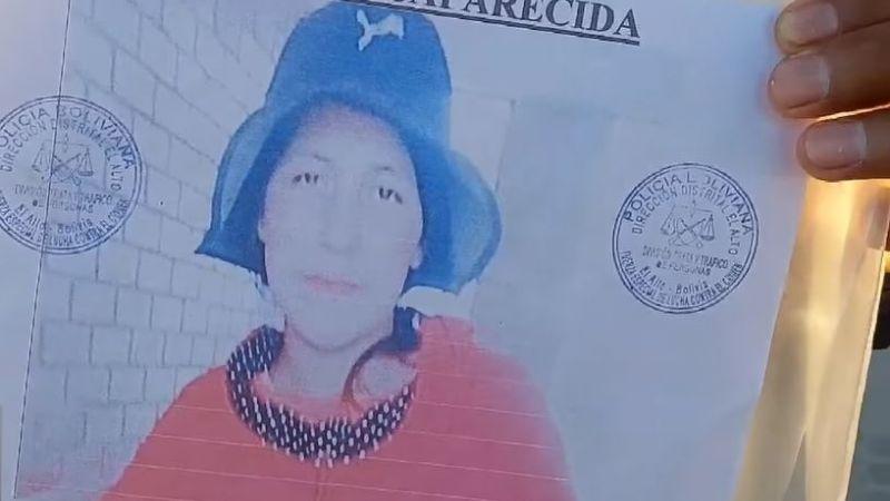 Joaquín busca a Elsa, su esposa embarazada que desapareció hace 15 días en El Alto