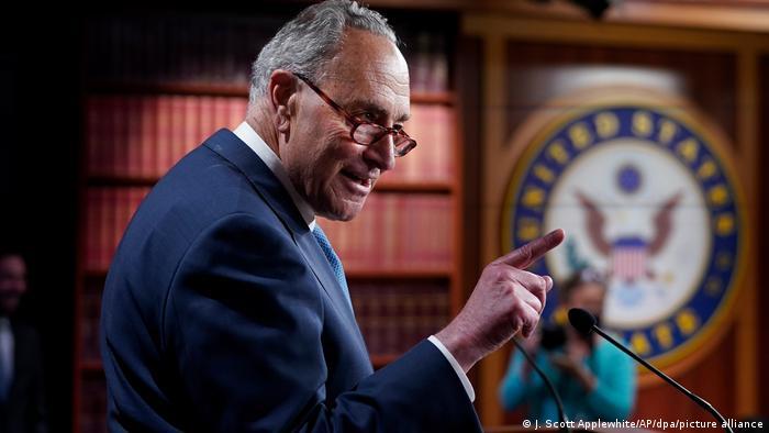 Chuck Schumer, líder demócrata en el Senado estadonidense, en una imagen reciente.