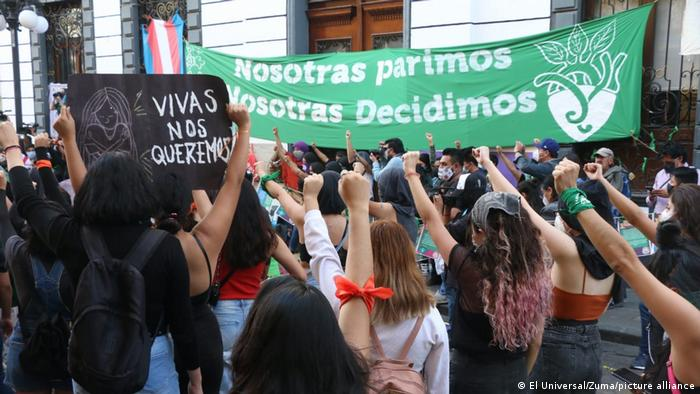 Protestas contra la violencia de género.