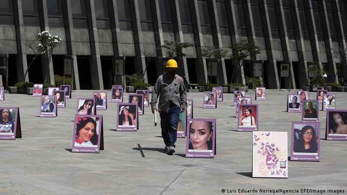 Colombia, homenaje a las mujeres asesinadas.