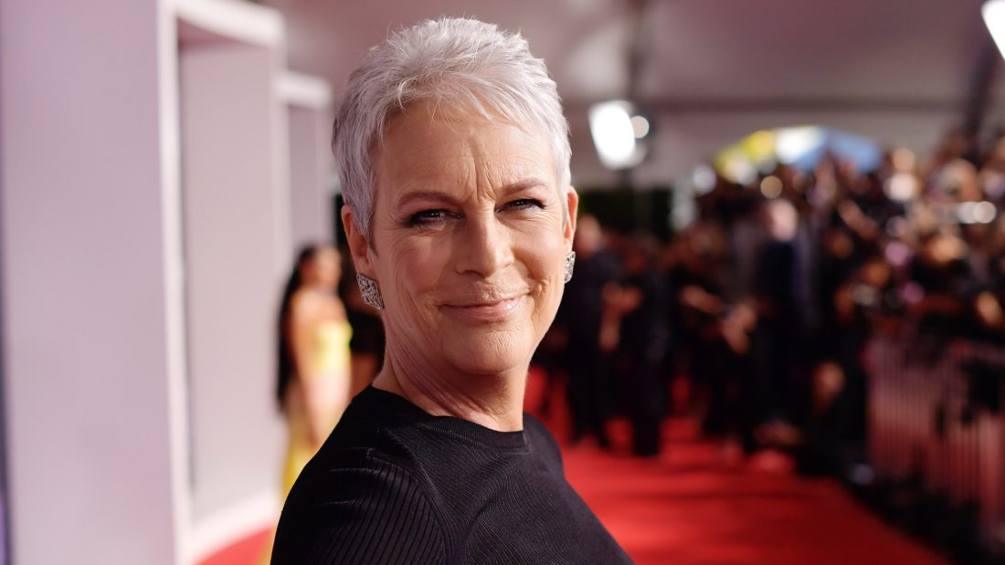 LOS ANGELES CALIFORNIA NOVEMBER 24 Jamie Lee Curtis attends the 2019 American Music Awards at Microsoft Theater on...