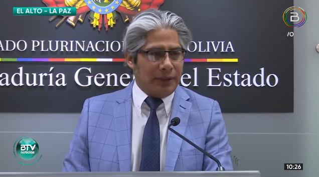 Wilfredo Chávez, procurador del Estado