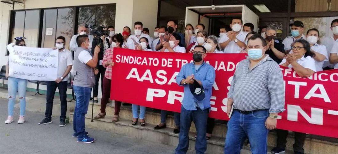 Los trabajadores denuncian incumplimiento/Foto: Redes