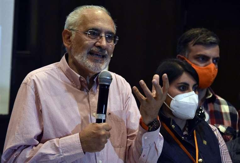 Carlos Mesa. Foto: AFP
