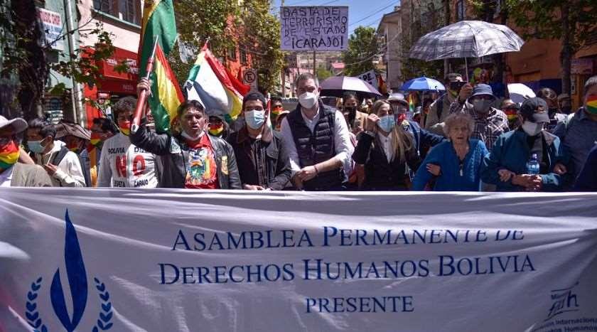 La Asamblea de Derechos humanos ve que peligra la democracia en el país/Foto: Redes