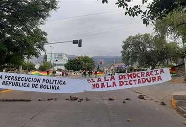 PARO EN BOLIVIA