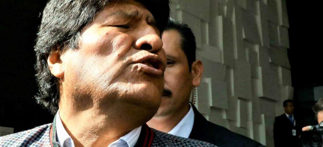 Evo Morales renunció a la presidencia el 10 de noviembre de 2019