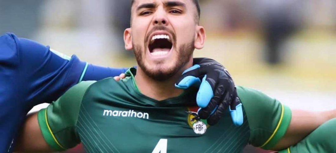 Haquin se lesionó durante el partido con Perú