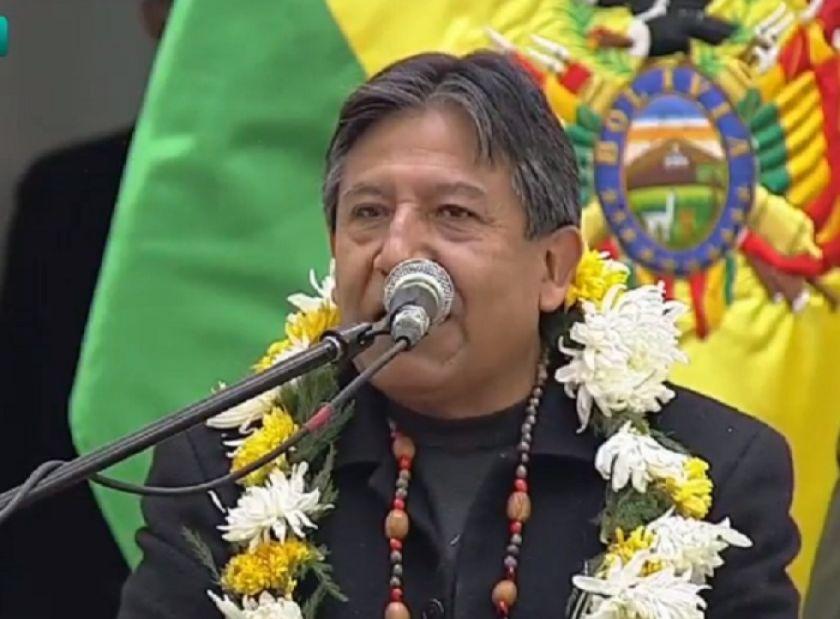 Choquehuanca: Un día como hoy llegó el odio y el racismo a nuestro continente