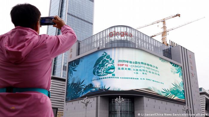 Conferencia de Biodiversidad de la ONU (COP15) en Kumming, China.