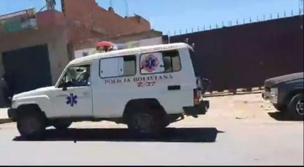Reportan explosión del tanque de una cisterna en un taller de Tarija