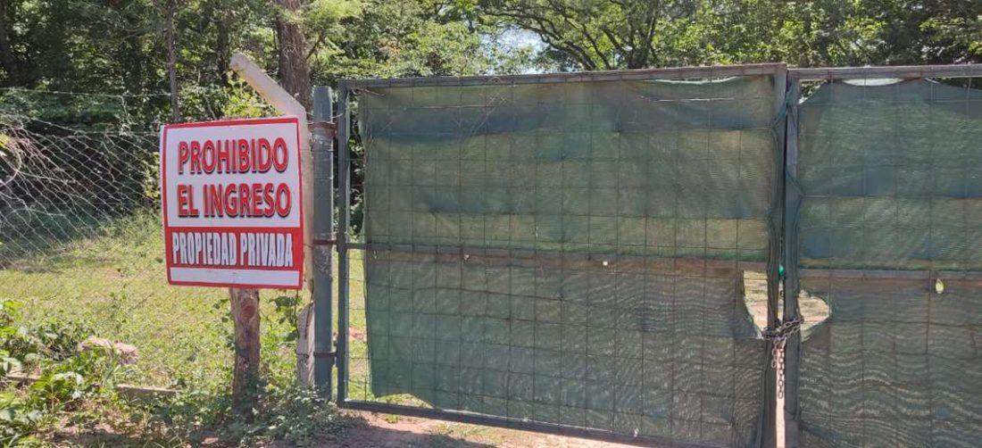 Denuncian explotación ilegal en el cordón ecológico. Foto: S. Vincenti